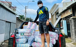 Giám đốc Đồng Nai tặng nguyên xe băng vệ sinh cho khu phong tỏa: Vì phụ nữ là để yêu thương