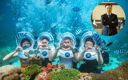 """Từng được Shark Việt đầu tư, startup """"Vinpearl Safari dưới biển"""" tự tin định giá cao nhất Shark Tank mùa 4: CEO """"đại gia"""" đã tự đầu tư 70 tỷ, từ chối cả Shark Bình và Shark Hưng"""