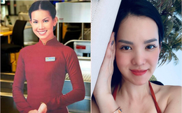 """Cô """"tiếp viên hàng không"""" Vietnam Airlines có hình ảnh phủ sóng ở mọi sân bay từ Bắc tới Nam một thời, giờ ra sao?"""