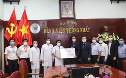 Bamboo Capital ủng hộ 2 tỷ đồng cho bệnh viện Thống Nhất, tiếp sức cho công tác phòng chống dịch Covid-19 của TPHCM
