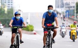 Hà Nội dừng hoạt động thể dục thể thao ngoài trời