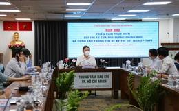 TP.HCM họp báo trước giờ giãn cách xã hội: Cấm dịch vụ ăn uống bán mang về, phát cơm từ thiện không quá 2 người