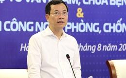 Bộ trưởng TTTT Nguyễn Mạnh Hùng: 'Mơ ước nhiều năm của ngành y tế nay được thực hiện chỉ trong 2,5 ngày'