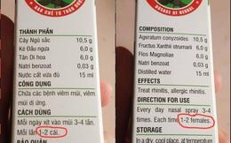 So sánh bìa hộp thuốc dịch từ Tiếng Việt sang Tiếng Anh, dân tình phát hiện 1 từ bị dịch sai khiến nghĩa cả câu trở nên kinh hoàng
