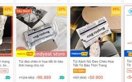 Louis Vuitton bán túi hình tờ báo hơn 2.000 USD, Shopee bán đầy loại na ná giá chỉ từ… 47K