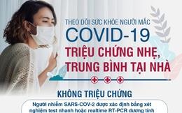 Dấu hiệu nguy hiểm cần đưa ngay người mắc COVID-19 đang theo dõi tại nhà đến BV