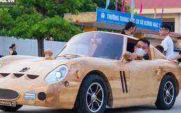 """Thợ Việt làm """"siêu xe"""" đắt nhất thế giới bằng gỗ cực """"chất"""", khiến báo ngoại trầm trồ"""