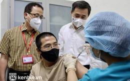 Ảnh: Những tình nguyện viên đầu tiên tại Hà Nội tiêm thử nghiệm vaccine Covid-19 thứ 3 của Việt Nam