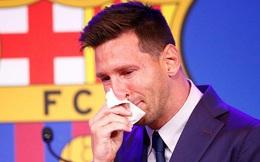 Giấy xì mũi của Messi được bán với giá 1 triệu USD