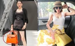 Lệ Quyên góp túi Hermès trị giá khủng đến mức khiến Xuân Lan thảng thốt vào quỹ đấu giá giúp Sài Gòn chống dịch