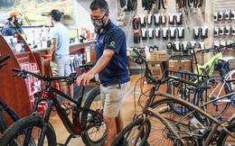 """""""Cơn sốt"""" xe đạp trên thế giới kéo dài do khan hiếm linh kiện"""