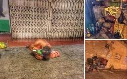 Bộ ảnh về người vô gia cư lay lắt trong đêm Sài Gòn giãn cách và những điều ấm áp nhỏ bé khiến ai cũng rưng rưng