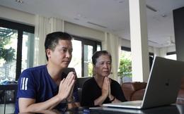 Dịch Covid-19, người Hà Nội cúng lễ Vu Lan online, viếng mộ qua video call