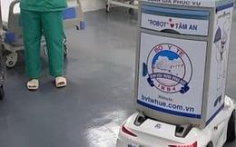 Bác sĩ Bệnh viện Trung ương Huế chế tạo Robot biết nói chuyện và gửi thông tin hỗ trợ điều trị bệnh nhân COVID-19