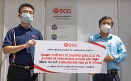 CSR kiểu SCG: Trao trang thiết bị, vật tư y tế thiết yếu là chưa đủ, tặng thêm loạt sáng kiến chống dịch đặc biệt như 26 buồng tắm kháng khuẩn, 800 giường giấy lắp ghép…