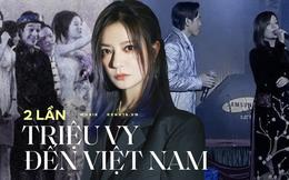 """Triệu Vy từng đến Việt Nam 2 lần trong 1 năm: Lần đầu gây hụt hẫng, lần sau """"gỡ gạc"""" sân khấu huyền thoại với Đan Trường"""