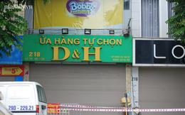 Hà Nội: Phong tỏa tạm thời cửa hàng tiện lợi và chung cư trên phố Lê Trọng Tấn liên quan ca dương tính SARS-CoV-2
