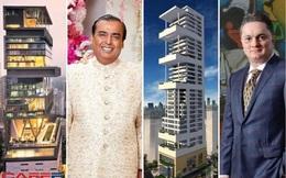"""Trình độ """"khoe nhà"""" của giới siêu giàu Ấn Độ: So kè trên cùng 1 con đường, giá trị cả tỷ USD, nội thất dinh thự đắt đỏ đến choáng ngợp"""