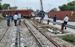 Truy trách nhiệm chủ đầu tư thi công nâng cấp đường sắt làm tàu hỏa gặp nạn