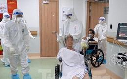 Cận cảnh khoa đặc biệt cho bệnh nhân vừa 'vượt qua cửa tử' tại Bệnh viện Hồi sức COVID-19