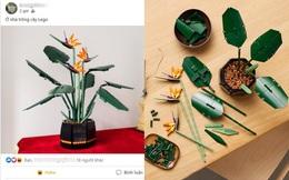 """Ở nhà mùa dịch làm gì? """"Trồng"""" bonsai LEGO sang xịn như cây thật, giá đến vài triệu/cây"""