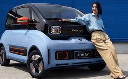 Ngoại hình siêu lạ của ô tô điện Trung Quốc giá 250 triệu, nạp no pin đi 300km