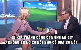 Tặng nữ MC tấm séc muốn điền bao tiền tùy ý nhưng bị từ chối, Bill Gates dạy cô bài học thấm thía: Đừng bao giờ bỏ lỡ cơ hội!