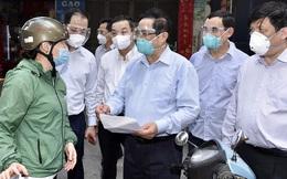 """Thủ tướng kiểm tra đột xuất """"ổ dịch"""" Thanh Xuân Trung, chỉ đạo 2 việc cần làm ngay"""