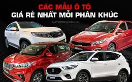 Nghịch cảnh loạt xe rẻ nhất Việt Nam: 'Người' bán chạy nhất, 'kẻ' chẳng ai biết đến