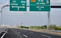 Cao tốc Hà Nội - Hải Phòng thu phí trở lại sau 1 tháng giảm giá