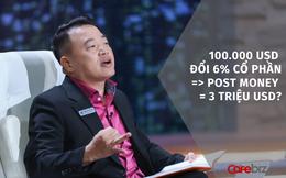 """Trước bình luận """"không phí tuổi thơ vào giải Toán vô bổ"""", Shark Bình từng có vài pha tính toán """"đi vào lòng đất"""": 100.000 USD đổi 6% cổ phần, định giá startup 3 triệu USD?"""