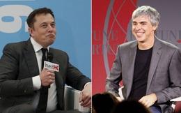 Tình bạn kỳ lạ nhất thế giới giữa Elon Musk và Larry Page