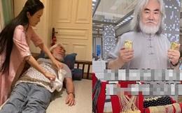"""Tài tử """"Thiên long bát bộ"""": Hết thời, livestream bán vàng kiếm tiền, 70 tuổi lấy vợ đáng tuổi con"""