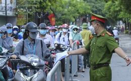 Ngày nghỉ lễ 2/9, Hà Nội xử phạt hơn 1.500 trường hợp vi phạm phòng, chống dịch