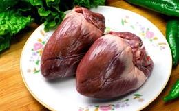 """Bộ phận """"độc nhất vô nhị"""" trên cơ thể con lợn, ăn nhiều rất tốt cho tim và máu, nhiều khi muốn mua cũng khó"""