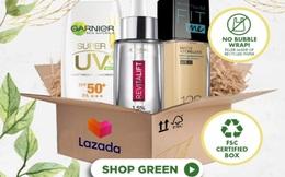 Làm đẹp bền vững: L'Oréal hợp tác cùng Lazada nỗ lực giảm bao bì nhựa và tăng vật liệu tái chế