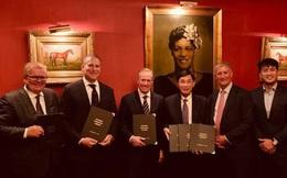 Ông Johnathan Hạnh Nguyễn ký kết với đối tác Mỹ, xúc tiến 45 dự án tổng vốn hàng trăm tỉ USD