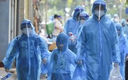 Hơn 1000 người dân tại ổ dịch có gần 600 ca mắc Covid-19 ở Hà Nội về nhà sau gần 1 tháng đi cách ly