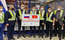 Việt Nam tiếp nhận lô vắc xin Sputnik V đầu tiên sau chuyến thăm LB Nga của Bộ trưởng Ngoại giao Bùi Thanh Sơn