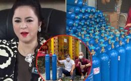 """Nhóm thiện nguyện Nhất Tâm đã bàn giao lại bình oxy cho Thành đoàn TP.HCM sau khi bà Nguyễn Phương Hằng """"cấm cửa"""" ông Đoàn Ngọc Hải đến Đại Nam"""