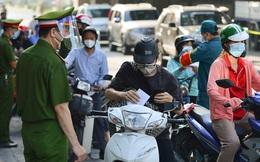 NÓNG: Hà Nội công bố chi tiết quy trình cấp Giấy đi đường, thẻ đi chợ, siêu thị tại vùng 1