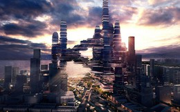 Siêu đô thị giữa lưng chừng trời