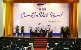 Lãnh đạo Samsung: 'Tôi tự hào mình là người có 50% là Việt Nam, 50% là Hàn Quốc'