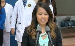 Y tá gốc Việt Nina Phạm đã đã hoàn toàn khỏi bệnh Ebola