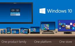 Microsoft đang thử nghiệm Windows 10 cho smartphone
