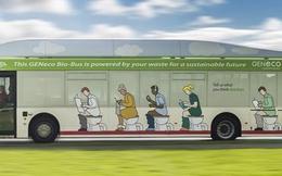 Anh đưa vào sử dụng xe bus chạy bằng chất thải con người