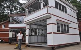 Triệu phú gốc Việt làm nhà lầu di động