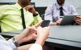 Người thành công không bao giờ mang smartphone vào phòng họp