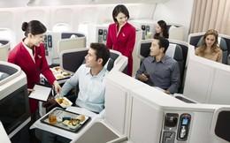 Bên trong khoang hạng thương gia tốt nhất của Cathay Pacific
