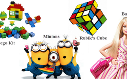[Infographic] Những biểu tượng đồ chơi được yêu thích nhất mọi thời đại